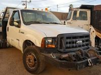 2007 Ford F350 4x4 Flatbed Dually Truck Manual