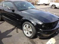 2007 Mustang GT 4.6 liter V8, Black on Black leather