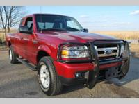 ONE OWNER! CLEAN CARFAX! THIS G��07 FORD RANGER XLT IS
