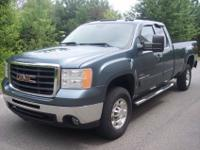 WE HAVE A 2007 GMC SIERRA 2500HD EXT CAB Z71 4X4 SLT