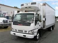2007 GMC W4500 CALL 1- MORGAN 16' REEFER WITH THERMO