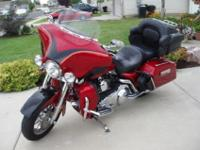 2007 Harley CVO Ultra. This is the most loaded bike