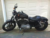 This is my Harley Davidson Sportster Nightster