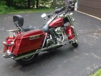 2007 Harley Road King. 6 speed transmission, well