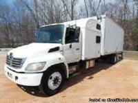 Make:  Hino Model:  338 Year:  2007 Exterior Color: