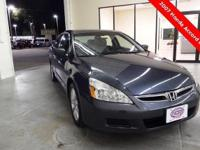 2007 Honda Accord EX-L Sedan ** Leather ** MOONROOF **