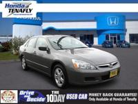 This 2007 Honda Accord Sdn EX is offered exclusively by