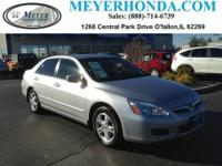 This 2007 Honda Accord Sdn is offered to you for sale