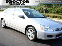 Options Included: N/A2007 Certified Used Honda Accord