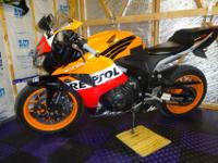 Up for sale is a 2007 Honda CBR 600 RR with only 8100