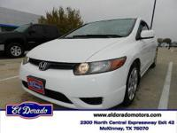 2007 Honda Civic Cpe 2dr Car LX Our Location is: El