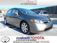 This 2007 Honda Civic Sdn LX Includes Aux Audio Input