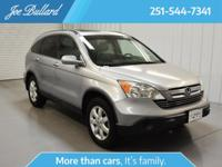 Recent Arrival! 2007 Honda CR-V EX-L Bluetooth, CD