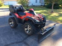 2007 honda rincon 680FA 4X4 with just over 2k miles.