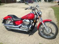 2007 Honda Shadow Spirit 750 C2 (VT750C2) LOW MILES!!