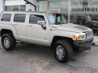 This 2007 Hummer H3 4x4 is another low mileage, Carfax