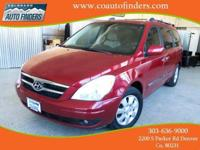 2007 Red Hyundai Entourage Limited For Sale in