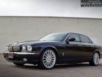 OVERVIEW This 2007 Jaguar XJ 4dr SUPERCHARGED NEW