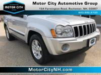 This is one great Jeep Grand Cherokee.  You win! Climb
