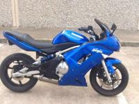 With a comfortable seating position and sportbike