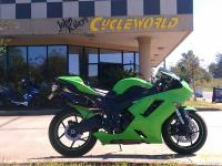 I currently have a 2007 Kawasaki Ninja Zx6-R for sale.