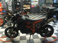Incredible KTM SMR 950 with many extras - suching as