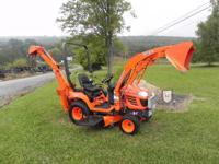 2007 Kubota BX24 Compact Tractor Loader Backhoe With