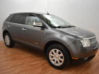 Very nice Lincoln MKX! All Wheel Drive! Heated leather