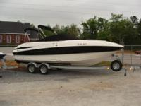 2007 Maxum 2400 SC3 w/ Mercrusier 5.0 MPI & trailer.