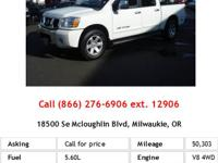 This 2007 Nissan Titan LE is offered exclusively by