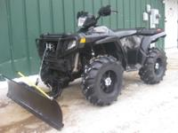 2007 POLARIS 4X4 SPORTSMAN 800 EFI STELTH EDITION ATV.