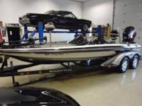 2007 Ranger Bass Fishing BoatE-Tech 225 Evinrude