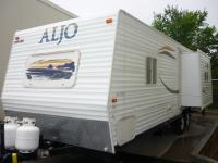 You are viewing a 2007 Aljo Travel trailer being