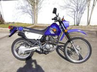I currently have a 2007 Suzuki Dr 200 Dual Sport for
