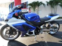 This is a beautiful custom 2007 Suzuki GSXR 1000. This