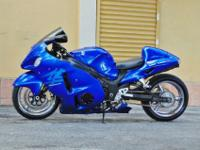 "2007 Suzuki Hayabusa ""Suzuki Blue""Bike with only 15310"