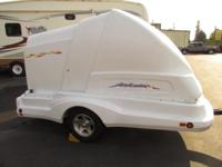 2007 9'X4' CARGO TRAILER FOR STREET BIKES TOY CARRIER /
