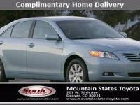 Look at this 2007 Toyota Camry XLE. Its Automatic