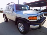 This exceptional example of a 2007 Toyota FJ Cruiser is