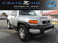 New Arrival! LOW MILES, This 2007 Toyota FJ Cruiser 4DR