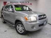 DVD SYSTEM! This 2007 Toyota Sequoia Limited is a great