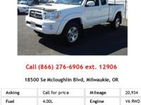 You can find this 2007 Toyota Tacoma PreRunner and many