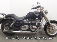 2007 Triumph America 900 with 8,780 Miles This is a
