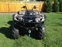 2007 YAMAHA GRIZZLY 700 WITH POWER STEERING, FUEL