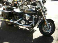 2007 YAMAHA V STAR 1300, Raven, 80 cubic-inches of