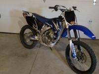 I have a 2007 YZF 450 motorcycle for sale. It is in