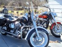 2007 Harley Davidson Softail Deluxe---- show bike or
