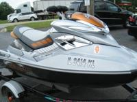 **2008 SEA-DOO RXT 255 JET SKI w/trailer **EXCELLENT