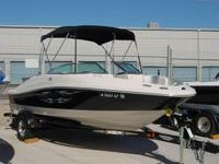 Like New! Open Bow, Bimini Top, Nice Large Integrated &