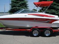 2008 Crownline 200 LS with only 92 low hours on it.
